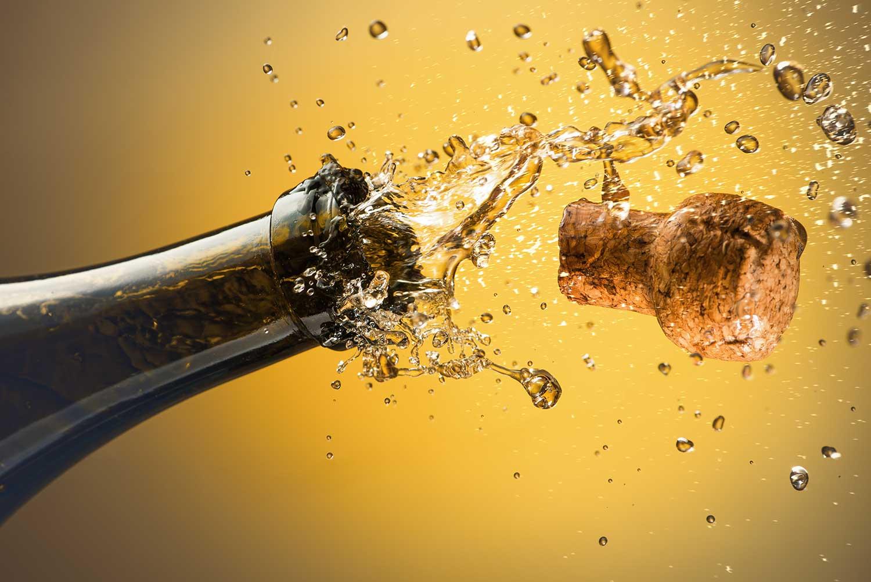 Champagne Plop